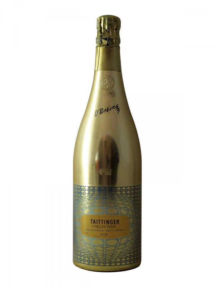 Champagne Taittinger Collection Vasarely Brut 1978 Bottle (75cl)