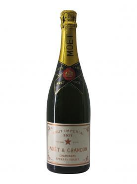 Champagne Moët & Chandon Brut Impérial Brut 1971 Bottle (75cl)