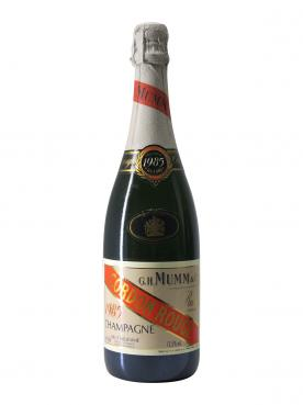 Champagne G.H Mumm Cordon Rouge Brut 1985 Bottle (75cl)