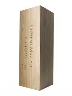 Château Mazeyres 2019 Original wooden case of one double magnum (1x300cl)