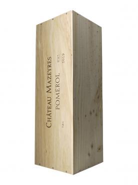 Château Mazeyres 2019 Original wooden case of one impériale (1x600cl)
