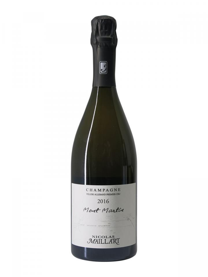 Champagne Nicolas Maillart Mont Martin 1er Cru 2016 Bottle (75cl)
