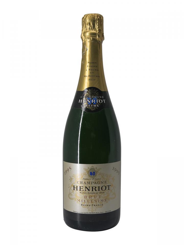 Champagne Henriot Millésimé Brut 1995 Bottle (75cl)
