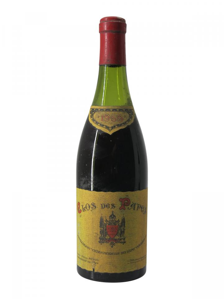 Chateauneuf-du-Pape Clos des Papes 1959 Bottle (75cl)