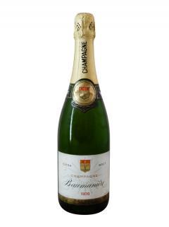 Champagne Baumanière Extra Brut 1976 Bottle (75cl)