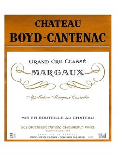 Château Boyd Cantenac 2020 Original wooden case of one double magnum (1x300cl)