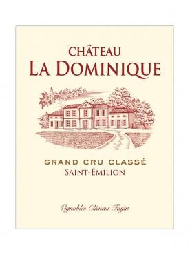 Château La Dominique 2020 Original wooden case of one double magnum (1x300cl)