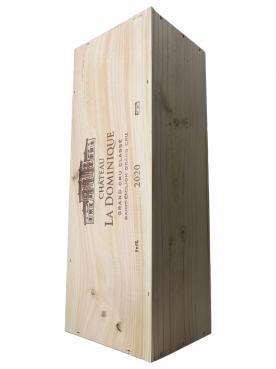 Château La Dominique 2020 Original wooden case of one impériale (1x600cl)