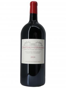 Château de Ferrand 2020 Original wooden case of one double magnum (1x300cl)