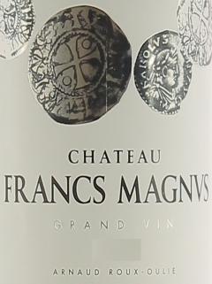 Chateau Francs Magnus 2020 Bottle (75cl)