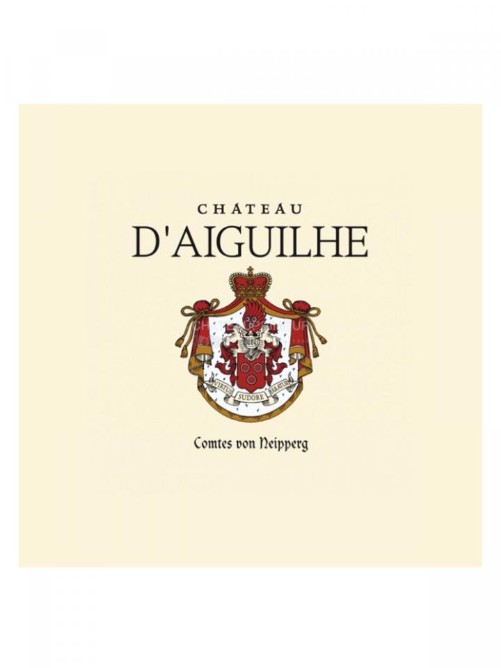 Château d'Aiguilhe 2015 Original wooden case of 6 bottles (6x75cl)