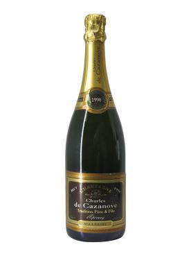 Champagne Charles de Cazanove  Millésimé Brut 1990 Bottle (75cl)