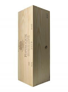 Château Fonroque 2019 Original wooden case of one double magnum (1x300cl)
