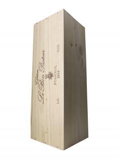 Château Le Bon Pasteur 2019 Original wooden case of one impériale (1x600cl)