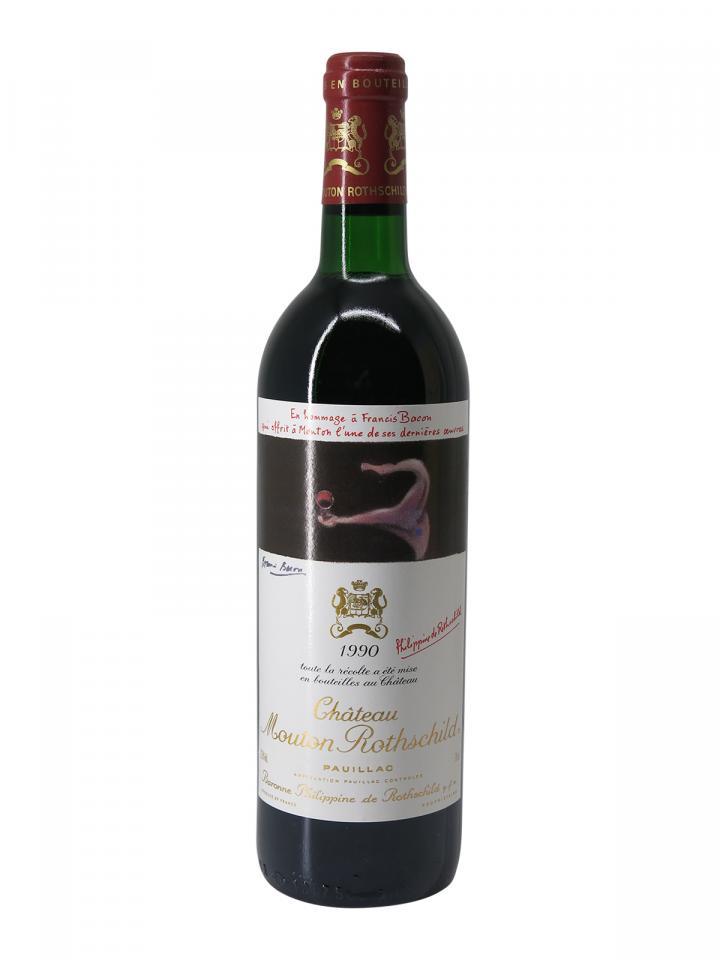 Château Mouton Rothschild 1990 Bottle (75cl)
