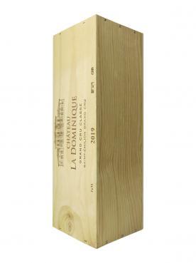 Château La Dominique 2019 Original wooden case of one double magnum (1x300cl)