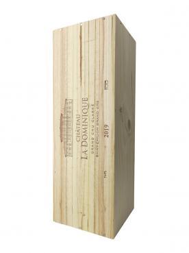 Château La Dominique 2019 Original wooden case of one impériale (1x600cl)