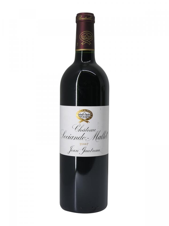 Château Sociando-Mallet 2007 Bottle (75cl)