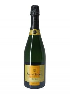Champagne Veuve Clicquot Ponsardin Brut 2012 Box of one bottle (75cl)