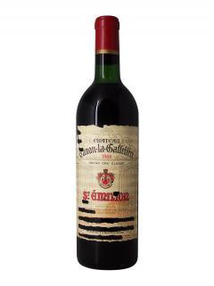 Château Canon-La-Gaffelière 1966 Bottle (75cl)