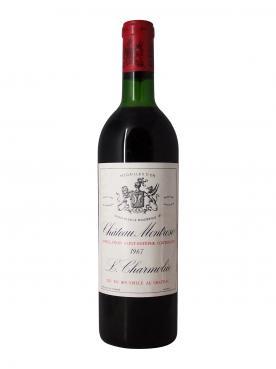 Château Montrose 1967 Bottle (75cl)