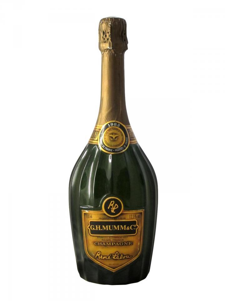 Champagne G.H Mumm René Lalou Brut 1982 Bottle (75cl)