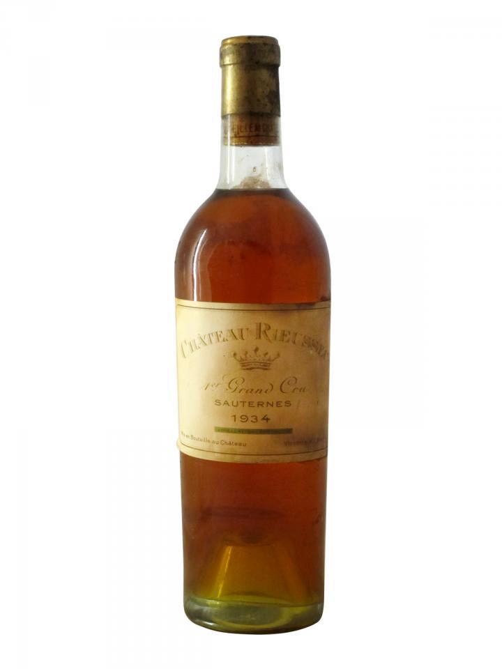 Château Rieussec 1934 Bottle (75cl)
