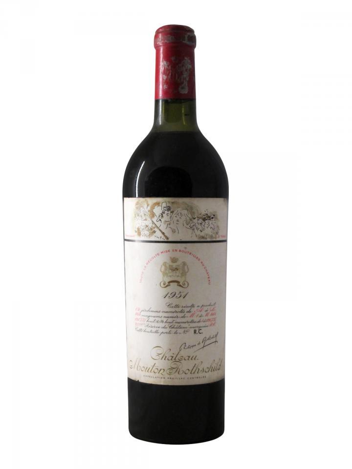 Château Mouton Rothschild 1951 Bottle (75cl)