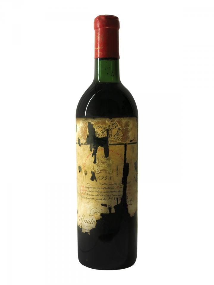 Château Mouton Rothschild 1958 Bottle (75cl)