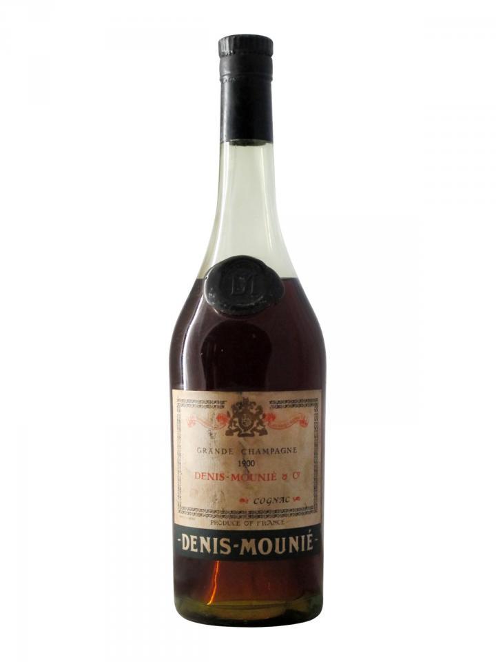 Cognac Grande Champagne Denis-Mounié 1900 Bottle (70cl)