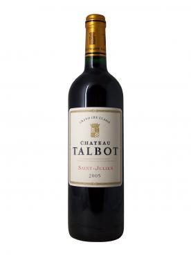 Château Talbot 2005 Original wooden case of 6 bottles (6x75cl)