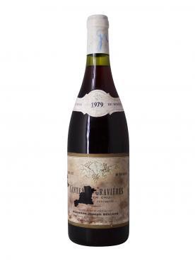 Santenay-Gravières 1er Cru Domaine Joseph Belland 1979 Bottle (75cl)