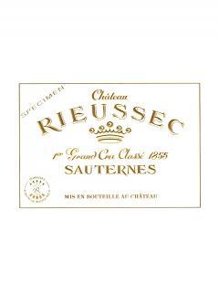 Château Rieussec 2017 Original wooden case of one impériale (1x600cl)