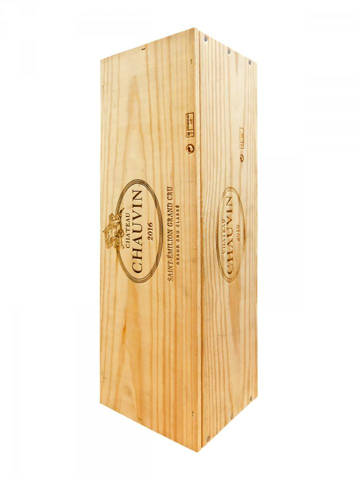 Château Chauvin 2016 Original wooden case of one double magnum (1x300cl)