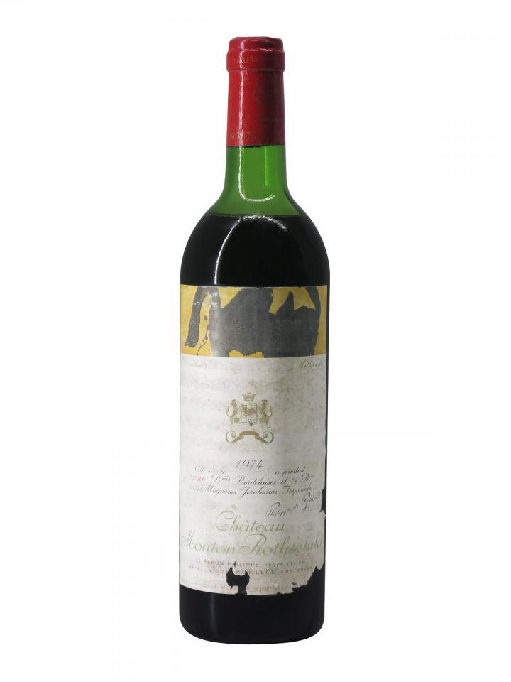 Château Mouton Rothschild 1974 Bottle (75cl)