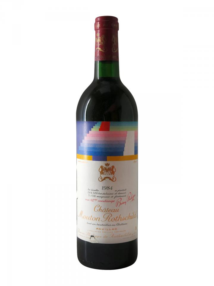Château Mouton Rothschild 1984 Bottle (75cl)