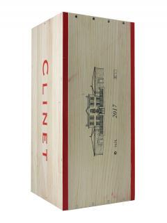 Château Clinet 2017 Original wooden case of one double magnum (1x300cl)