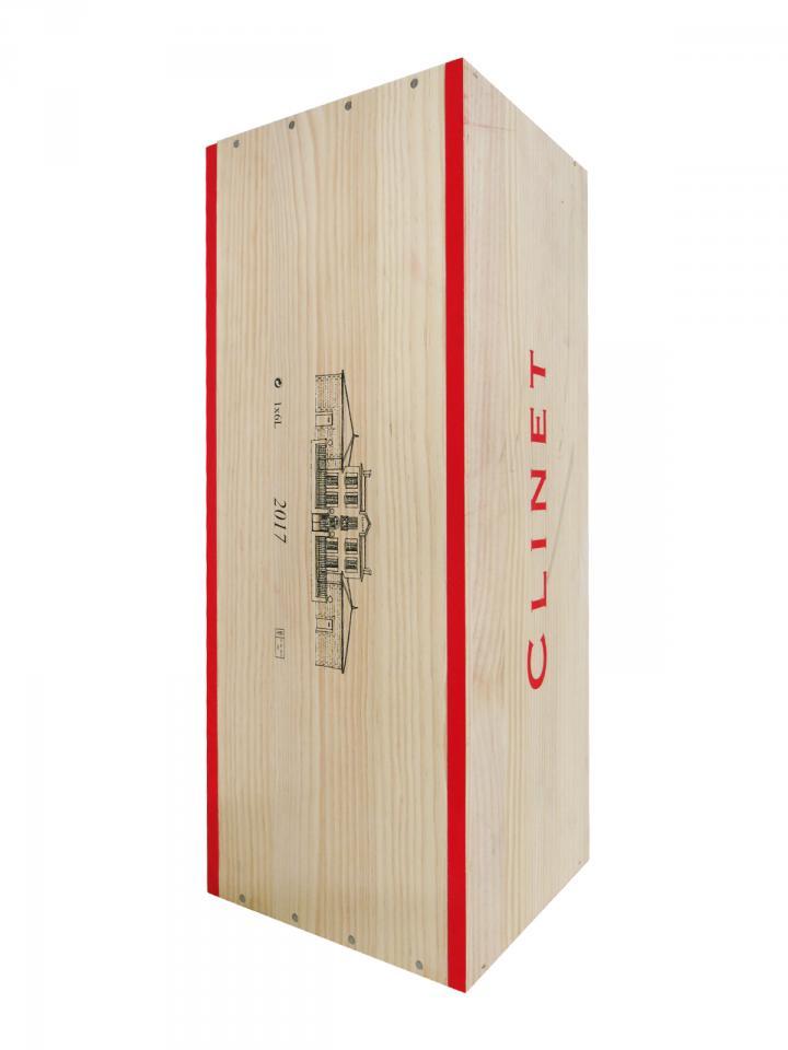 Château Clinet 2017 Original wooden case of one impériale (1x600cl)