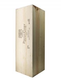 Château Pontet-Canet 2017 Original wooden case of one salmanazar (1x900cl)