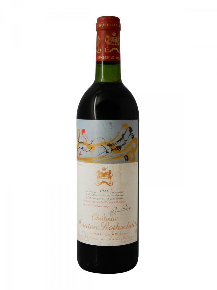 Château Mouton Rothschild 1981 Bottle (75cl)