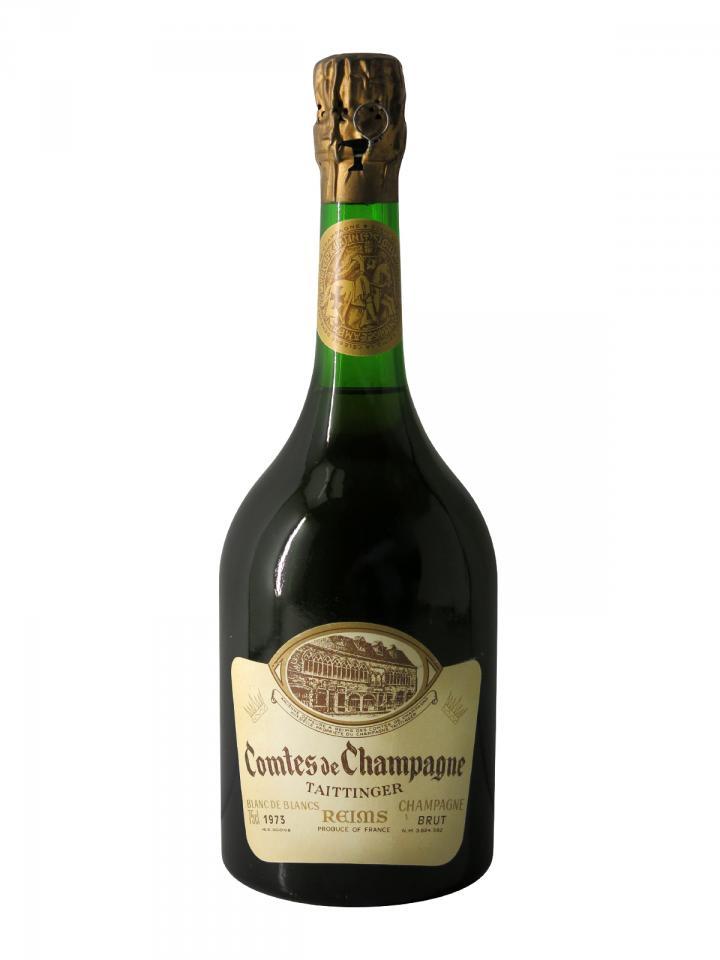 Champagne Taittinger Comtes de Champagne Blanc de Blancs Brut 1973 Bottle (75cl)