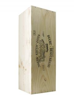 Château Ducru-Beaucaillou 2017 Original wooden case of one impériale (1x600cl)
