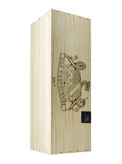 Château Cos d'Estournel 2017 Original wooden case of one double magnum (1x300cl)