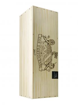 Château Cos d'Estournel 2017 Original wooden case of one double magnum (1x300cl)