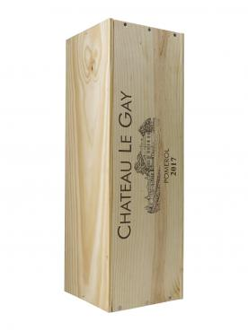 Château Le Gay 2017 Original wooden case of one double magnum (1x300cl)