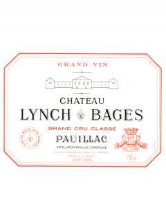 Château Lynch Bages 2017 Original wooden case of one impériale (1x600cl)