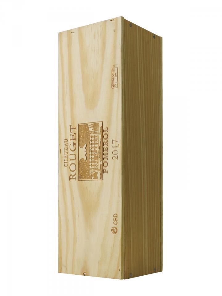 Château Rouget 2017 Original wooden case of one magnum (1x150cl)