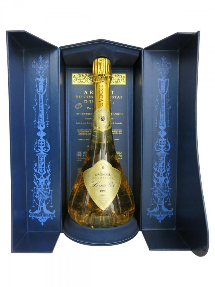 Champagne De Venoge Louis XV Brut 1995 Box of one bottle (75cl)