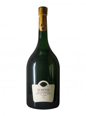 Champagne Taittinger Comtes de Champagne Blanc de Blancs Brut 2007 Original wooden case of one mathusalem (1x600cl)