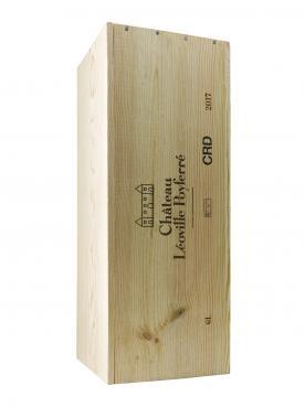 Château Léoville Poyferré 2017 Original wooden case of one impériale (1x600cl)